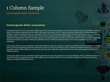 SMM PowerPoint Template, Slide 4, 15248, Business Concepts — PoweredTemplate.com