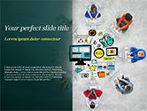 Business Concepts: SMM PowerPoint Template #15248