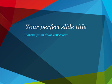 Abstract/Textures: Abstract Polygonal Background PowerPoint Template #15255