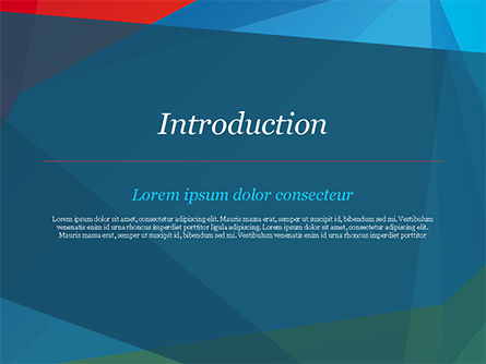 Abstract Polygonal Background PowerPoint Template, Slide 3, 15255, Abstract/Textures — PoweredTemplate.com