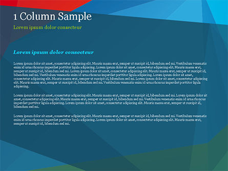 Abstract Polygonal Background PowerPoint Template, Slide 4, 15255, Abstract/Textures — PoweredTemplate.com