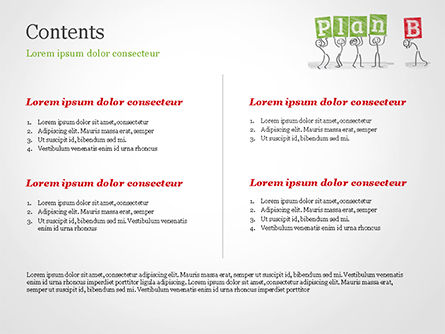 Business Plan Strategy Changing PowerPoint Template, Slide 2, 15256, Business Concepts — PoweredTemplate.com