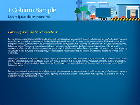 Warehouse Automation PowerPoint Template, Slide 4, 15257, Careers/Industry — PoweredTemplate.com