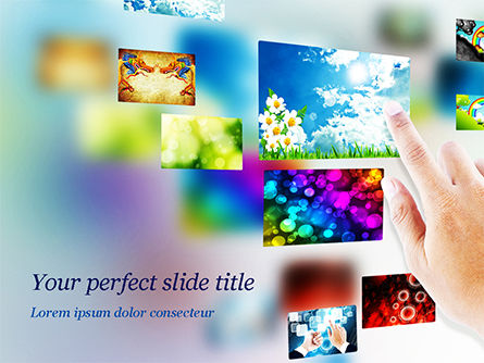Technology and Science: Photostock PowerPoint Template #15268