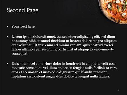 Pepperoni Pizza PowerPoint Template, Slide 2, 15269, Food & Beverage — PoweredTemplate.com