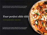 Food & Beverage: Pepperoni Pizza PowerPoint Template #15269