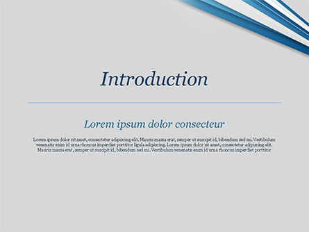 Blue and White Diagonal Lines Abstract PowerPoint Template, Slide 3, 15270, Abstract/Textures — PoweredTemplate.com