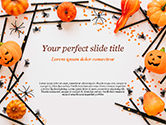 Holiday/Special Occasion: Modello PowerPoint - Decorazioni di halloween #15276