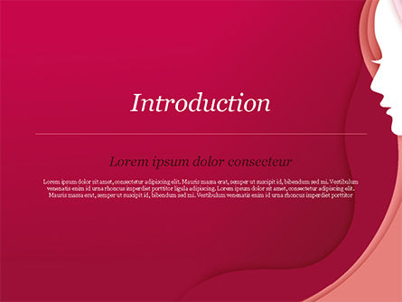 Women Silhouette PowerPoint Template, Slide 3, 15284, Careers/Industry — PoweredTemplate.com
