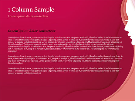 Women Silhouette PowerPoint Template, Slide 4, 15284, Careers/Industry — PoweredTemplate.com