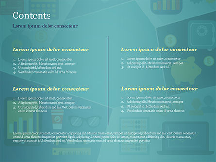 Financial Icons PowerPoint Template, Slide 2, 15285, Financial/Accounting — PoweredTemplate.com