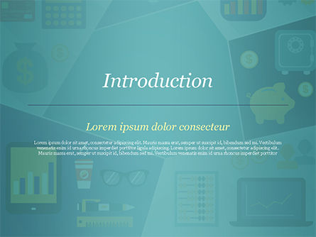 Financial Icons PowerPoint Template, Slide 3, 15285, Financial/Accounting — PoweredTemplate.com