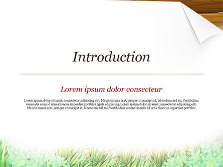 Girl Scout PowerPoint Template, Slide 3, 15292, Education & Training — PoweredTemplate.com