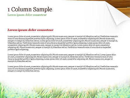 Girl Scout PowerPoint Template, Slide 4, 15292, Education & Training — PoweredTemplate.com