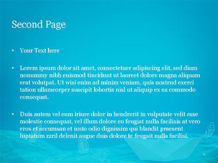 Marine Pollution Concept PowerPoint Template, Slide 2, 15293, Nature & Environment — PoweredTemplate.com