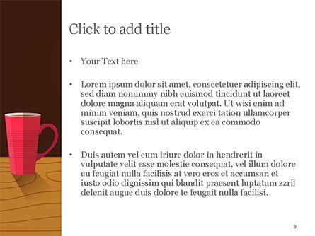 Hot Drinks PowerPoint Template, Slide 3, 15294, Food & Beverage — PoweredTemplate.com