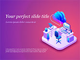 Technology and Science: Smart Office PowerPoint Template #15295