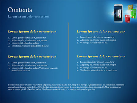 Mobile Payments PowerPoint Template, Slide 2, 15296, Financial/Accounting — PoweredTemplate.com