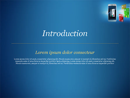 Mobile Payments PowerPoint Template, Slide 3, 15296, Financial/Accounting — PoweredTemplate.com