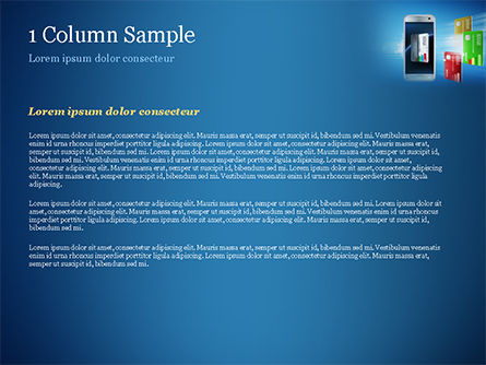 Mobile Payments PowerPoint Template, Slide 4, 15296, Financial/Accounting — PoweredTemplate.com