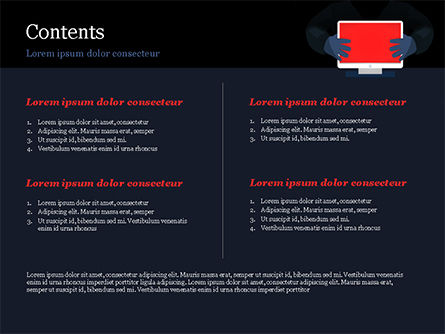 Computer Viruses Concept PowerPoint Template, Slide 2, 15298, Technology and Science — PoweredTemplate.com