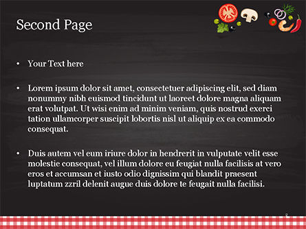 Spicy Shrimp Pizza PowerPoint Template, Slide 2, 15303, Food & Beverage — PoweredTemplate.com