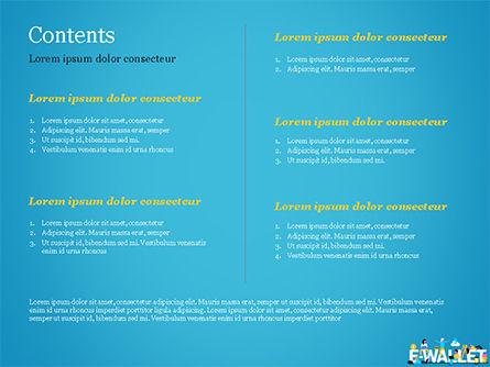 E-Wallet PowerPoint Template, Slide 2, 15304, Financial/Accounting — PoweredTemplate.com