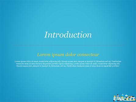 E-Wallet PowerPoint Template, Slide 3, 15304, Financial/Accounting — PoweredTemplate.com