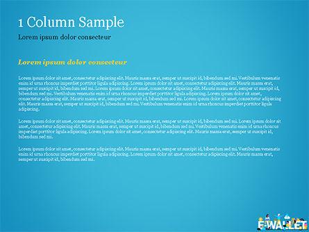 E-Wallet PowerPoint Template, Slide 4, 15304, Financial/Accounting — PoweredTemplate.com