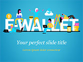 Financial/Accounting: E-Wallet PowerPoint Template #15304