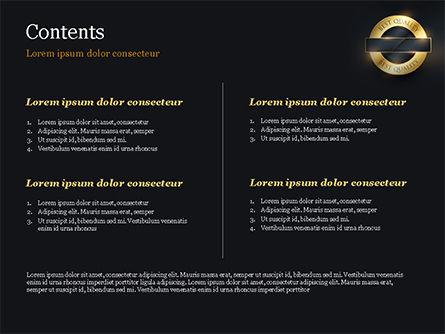 Best Quality PowerPoint Template, Slide 2, 15305, Business Concepts — PoweredTemplate.com