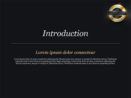 Best Quality PowerPoint Template, Slide 3, 15305, Business Concepts — PoweredTemplate.com