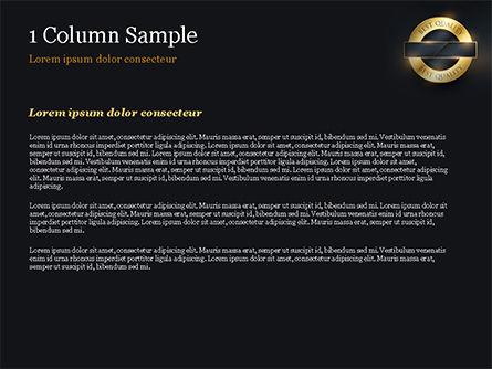 Best Quality PowerPoint Template, Slide 4, 15305, Business Concepts — PoweredTemplate.com
