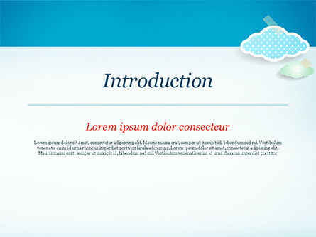 Cute Stickers PowerPoint Template, Slide 3, 15306, Holiday/Special Occasion — PoweredTemplate.com