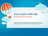 Holiday/Special Occasion: Cute Stickers PowerPoint Template #15306