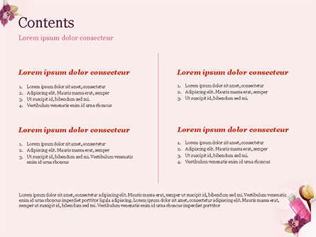 Women's Cosmetics PowerPoint Template, Slide 2, 15312, Careers/Industry — PoweredTemplate.com