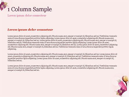 Women's Cosmetics PowerPoint Template, Slide 4, 15312, Careers/Industry — PoweredTemplate.com