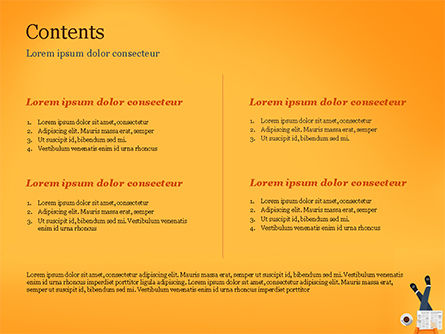 Coffee Break PowerPoint Template, Slide 2, 15313, People — PoweredTemplate.com