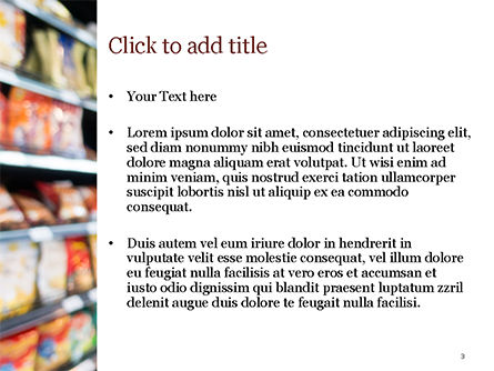 Supermarket PowerPoint Template, Slide 3, 15315, Careers/Industry — PoweredTemplate.com
