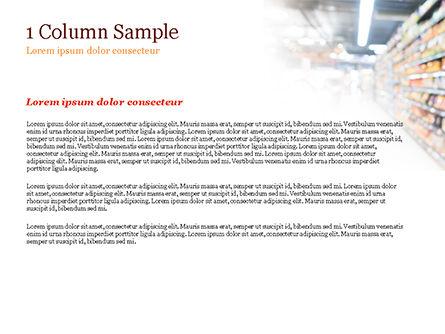Supermarket PowerPoint Template, Slide 4, 15315, Careers/Industry — PoweredTemplate.com
