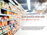 Careers/Industry: Supermarket PowerPoint Template #15315