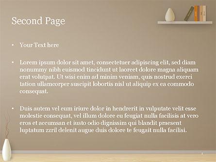 Minimalist Interior Design PowerPoint Template, Slide 2, 15319, Careers/Industry — PoweredTemplate.com