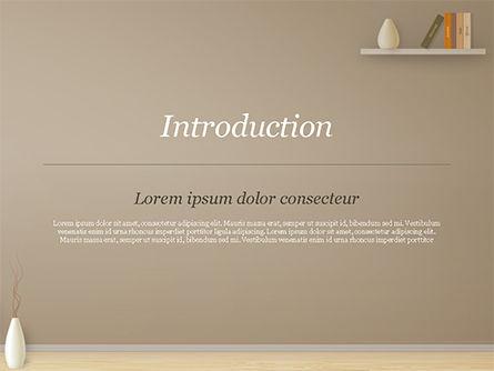 Minimalist Interior Design PowerPoint Template, Slide 3, 15319, Careers/Industry — PoweredTemplate.com