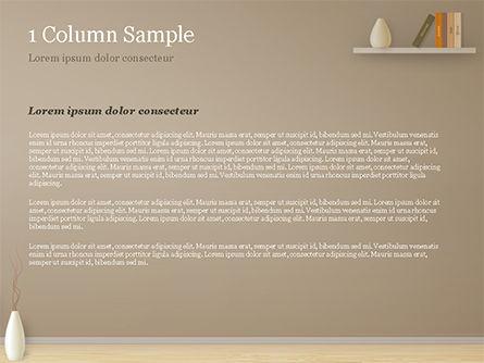 Minimalist Interior Design PowerPoint Template, Slide 4, 15319, Careers/Industry — PoweredTemplate.com