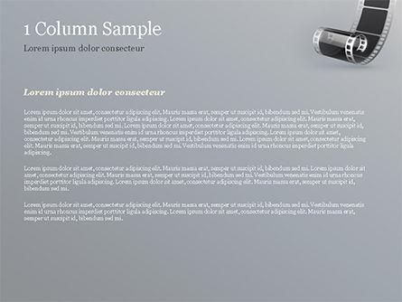 Black Film Strip PowerPoint Template, Slide 4, 15324, Art & Entertainment — PoweredTemplate.com