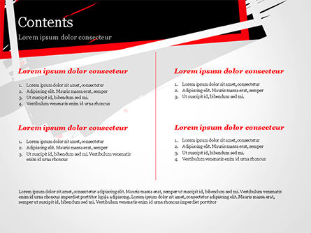 Black Friday Theme Abstract PowerPoint Template, Slide 2, 15326, Abstract/Textures — PoweredTemplate.com