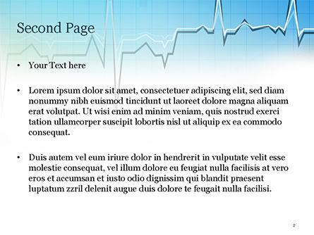 Pulse Rate Diagram PowerPoint Template, Slide 2, 15327, Medical — PoweredTemplate.com