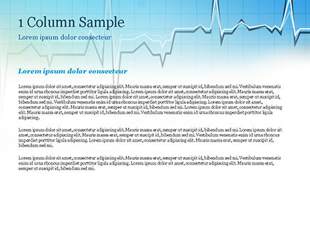 Pulse Rate Diagram PowerPoint Template, Slide 4, 15327, Medical — PoweredTemplate.com