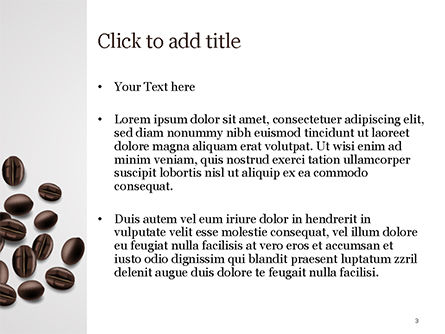 White Cup of Coffee PowerPoint Template, Slide 3, 15328, Food & Beverage — PoweredTemplate.com