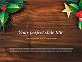 Holiday/Special Occasion: Christmas Mistletoe PowerPoint Template #15338